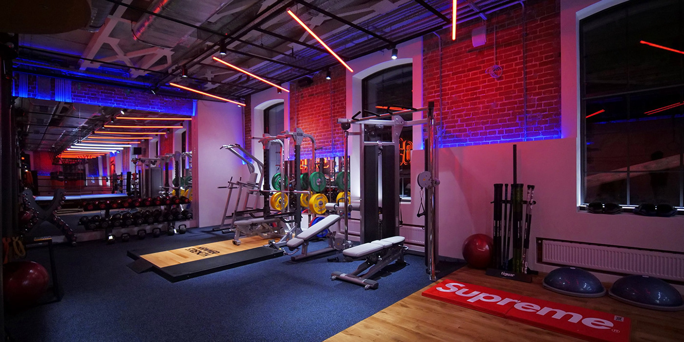 Corner gym on behance