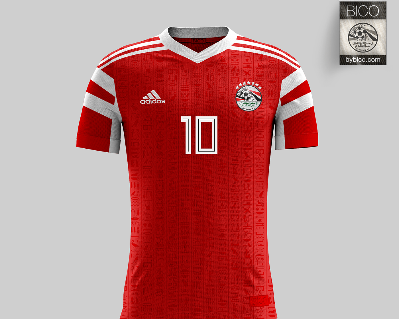 A homage to Egypt s 1990 World Cup Kit with Egyptian Hieroglyphs pattern. 9d45850eb