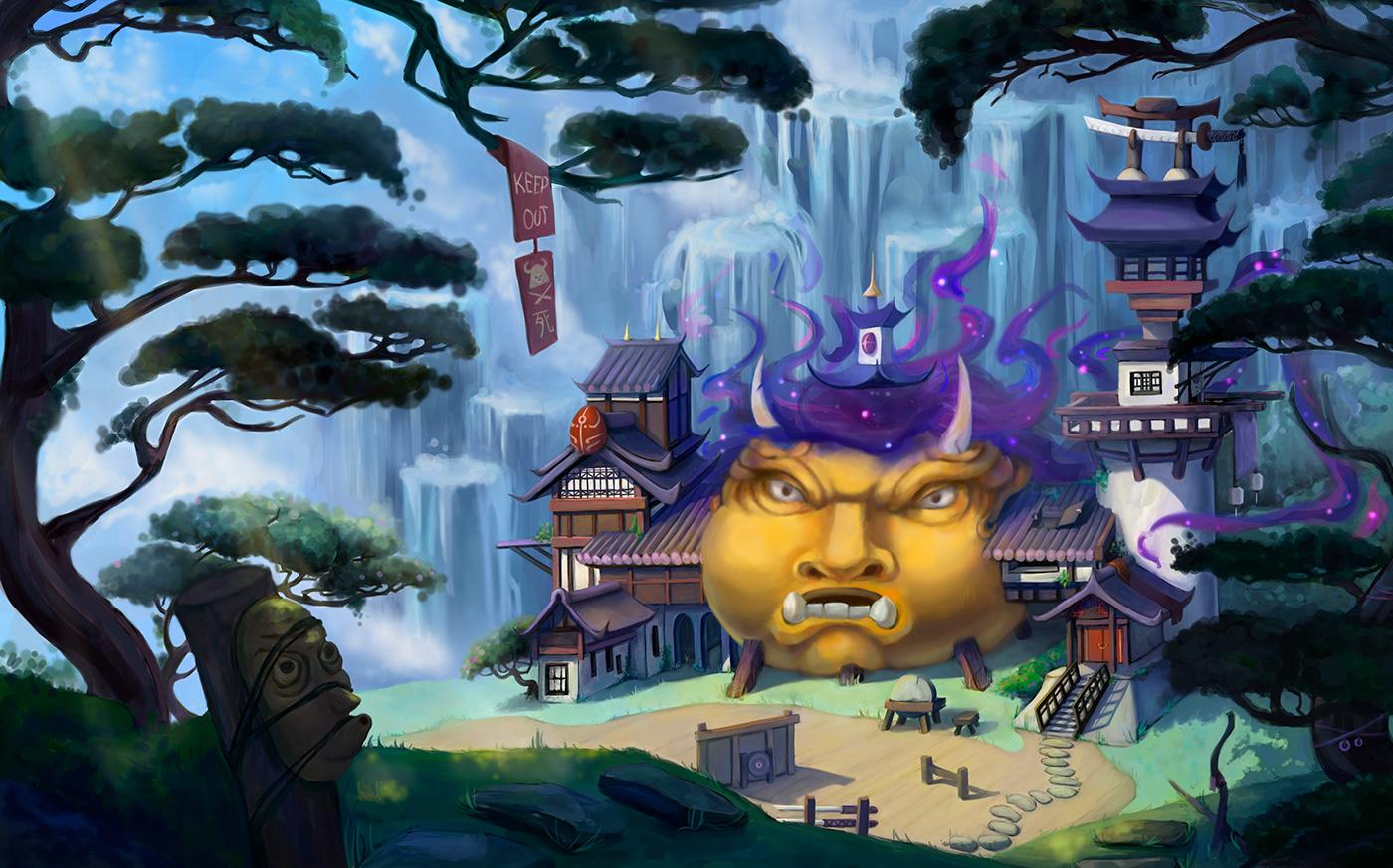 art fantasy ILLUSTRATION  Magic   painting