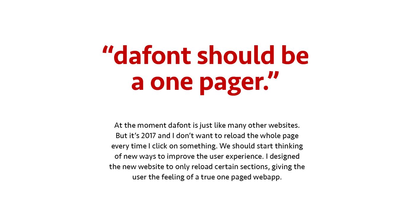 dafont redesign rebranding fonts free typography   concept font fontpik