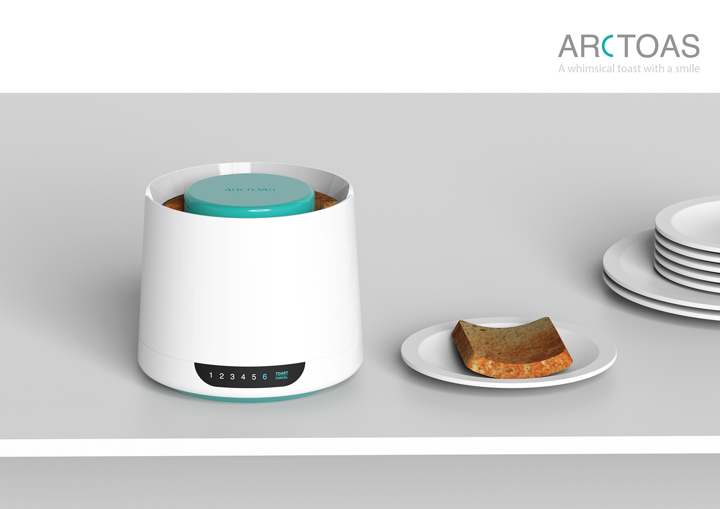 Archtoas - A Smiling Toast. on Behance