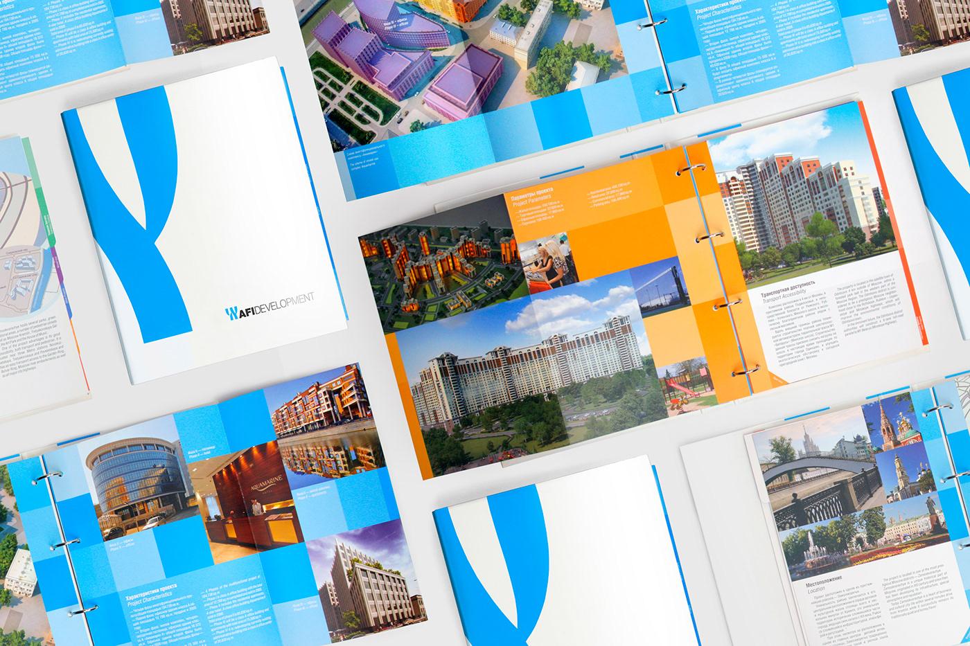 AFI development graphic design  polygraphy