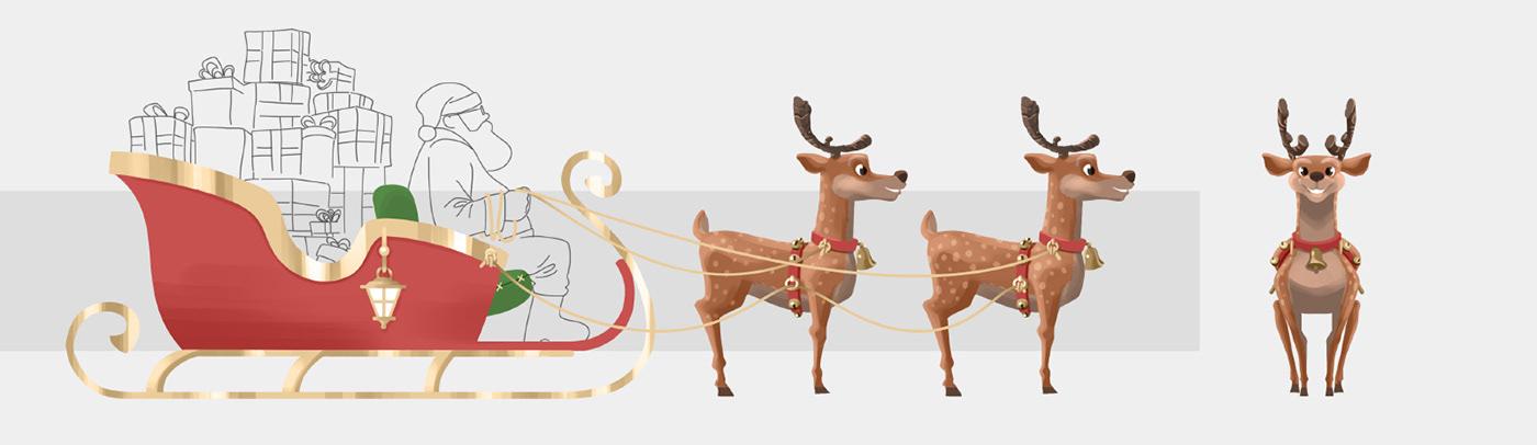 Miagui,animation ,motion,3D,Character,CGI,Christmas,natal,Riomar,concept