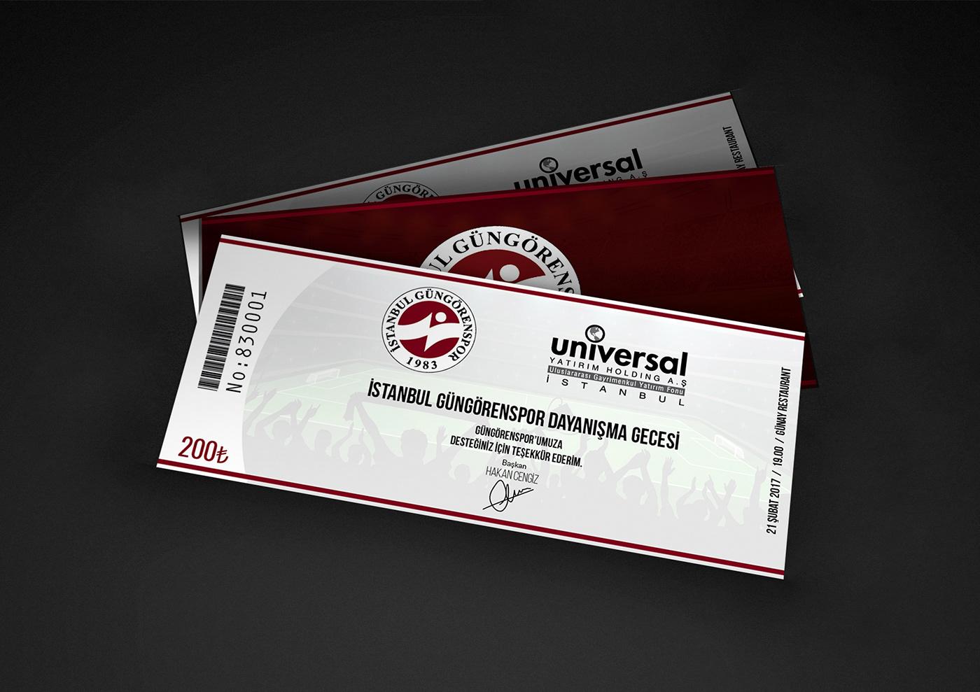 Güngören football ticket