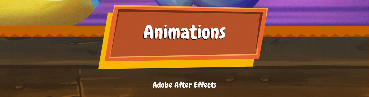 public campaign after effects motion graphics  Character cute animation  animator monster spaceship