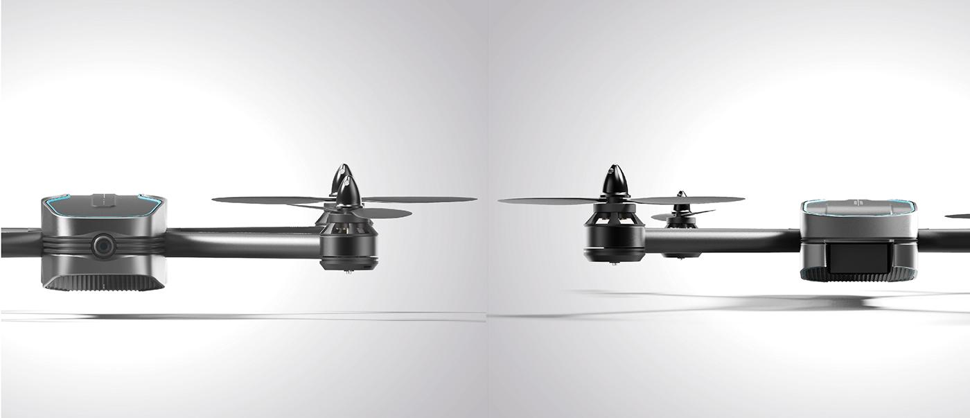 Adobe Portfolio drone quadrocopter industrial design  transportation minimal design product design  sports race