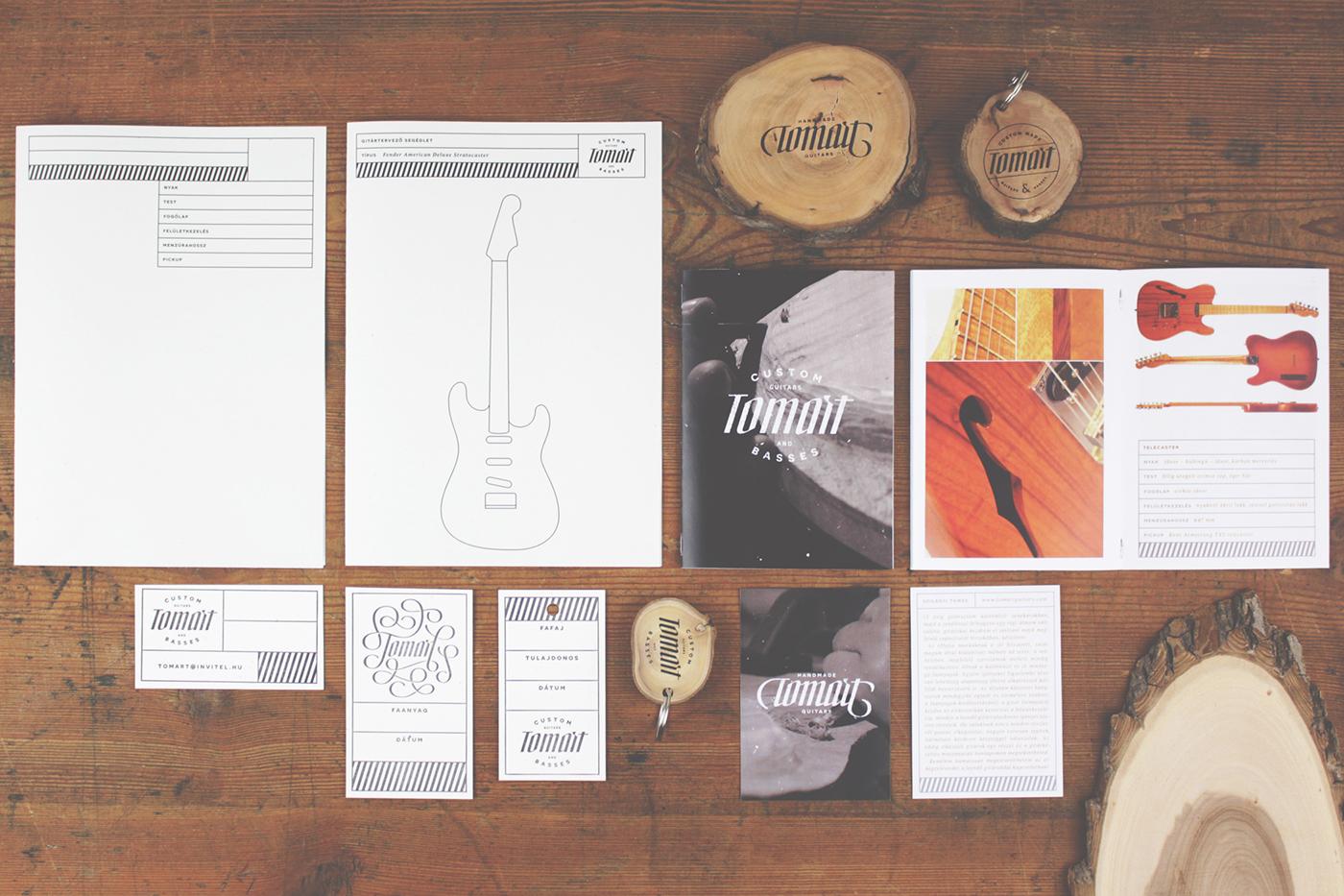 identity instrument guitar bass Custom letter wood handmade typo degree screenprint wooden letterpress customletter luthier