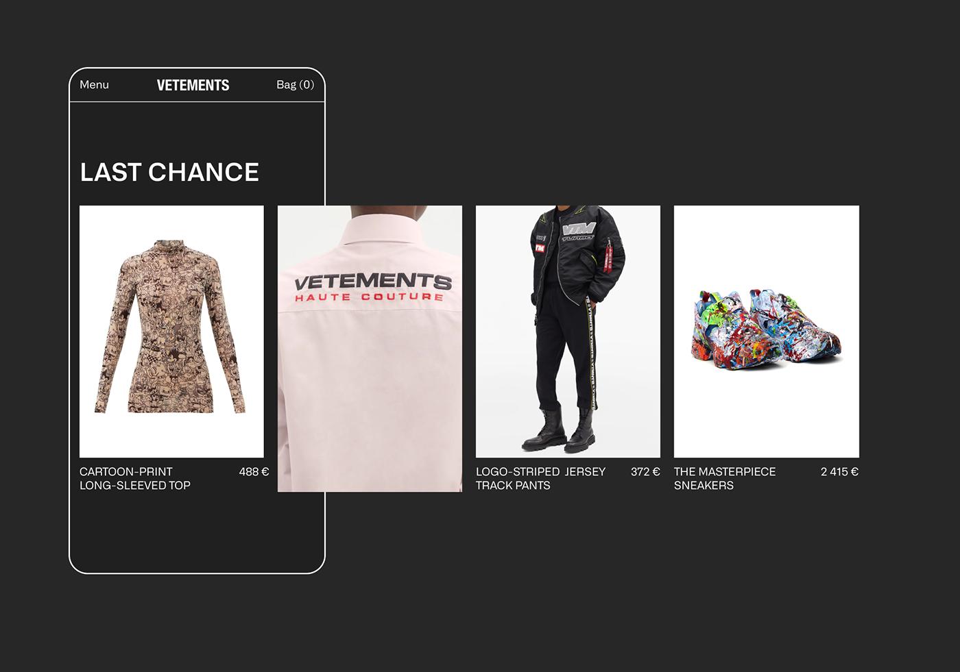 animation  concept design e-commerce grid Minimalism store ux/ui Web Website
