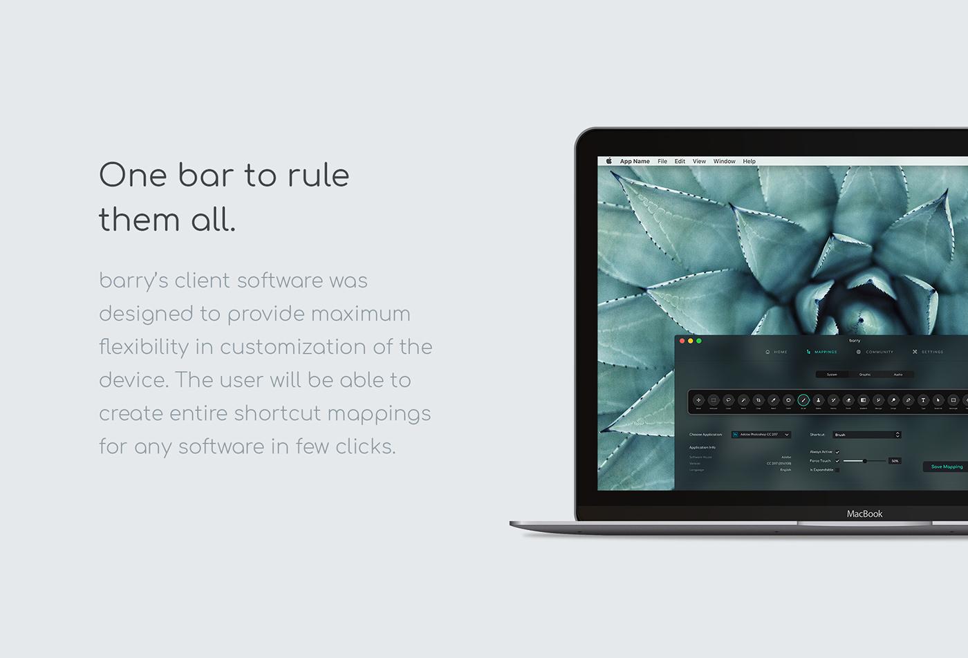 ux UI industrial design  apple device 3D product design  motion social