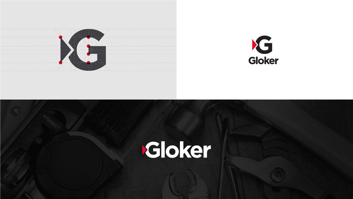 logo grid geometry brand golden section logofolio new grids mark