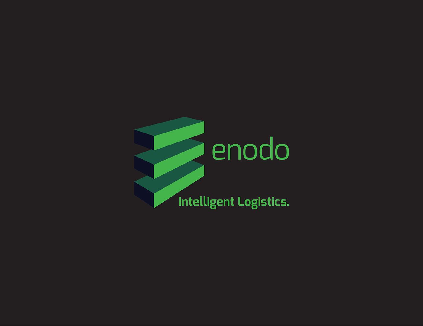 enodo branding on Behance