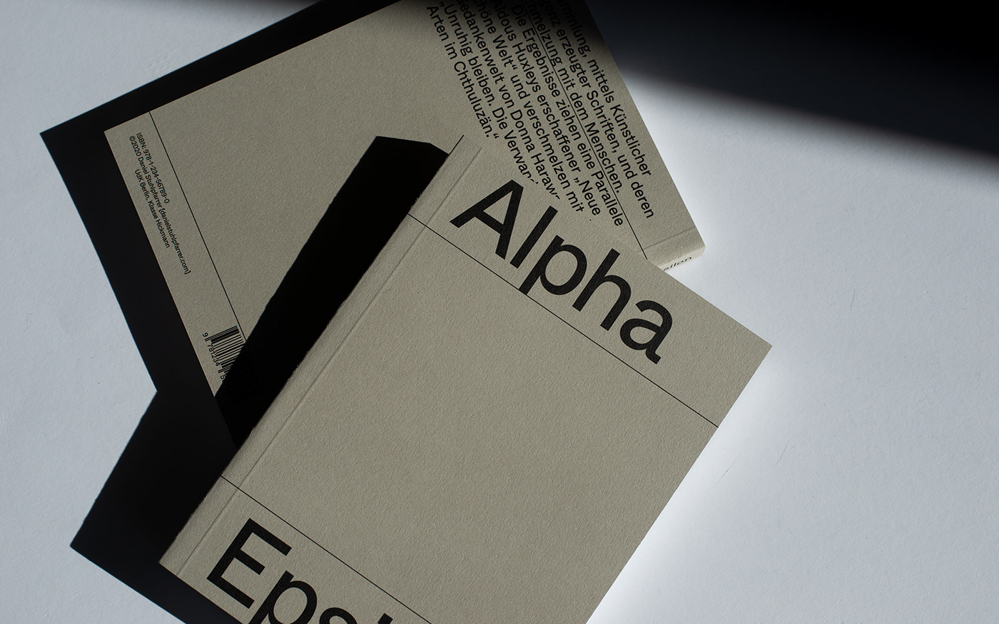 Alpha Epsilon Book Cover Front and Back