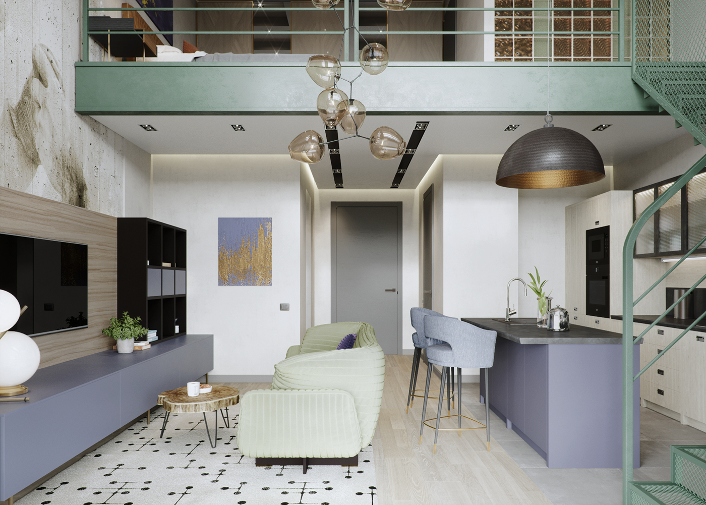 Tribeca apartment house on Behance