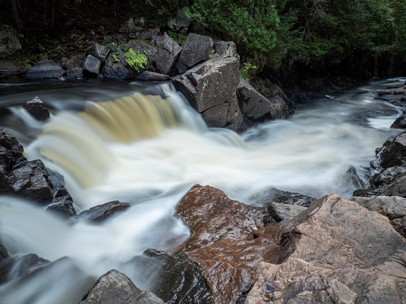 Gorge Kawarthas Landscape rocks The Gut Conservation area waterfall
