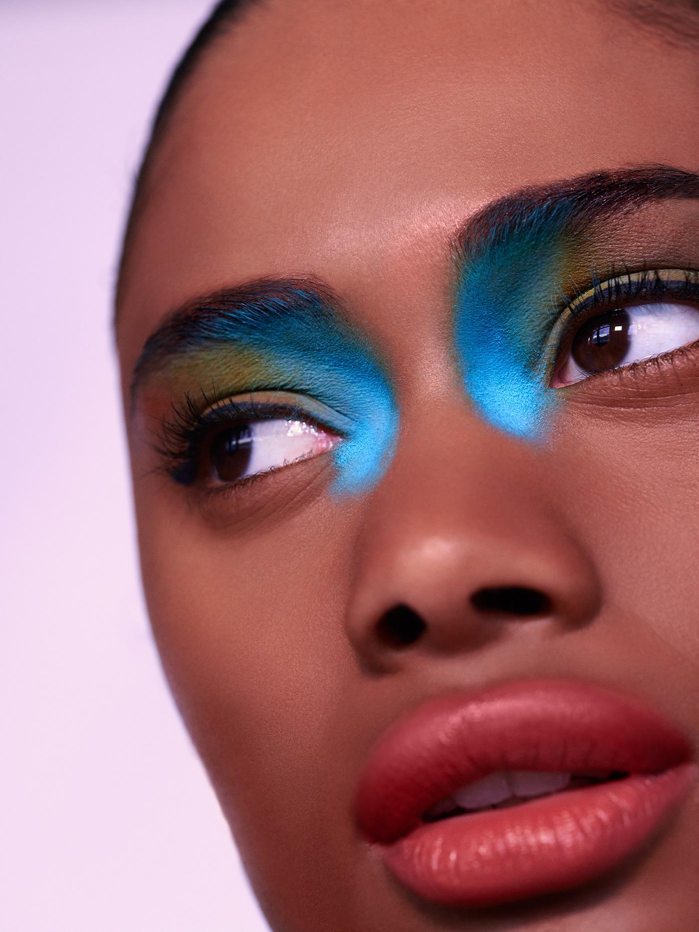 beauty Editing  editorial Fashion  magazine Photoretouch retouching