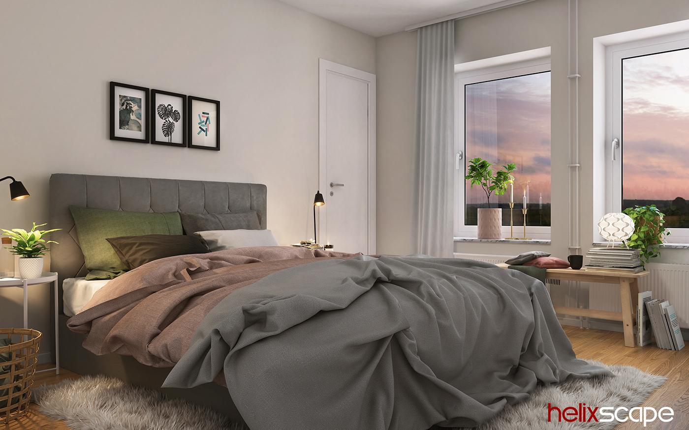 3d renderings visualization Interior