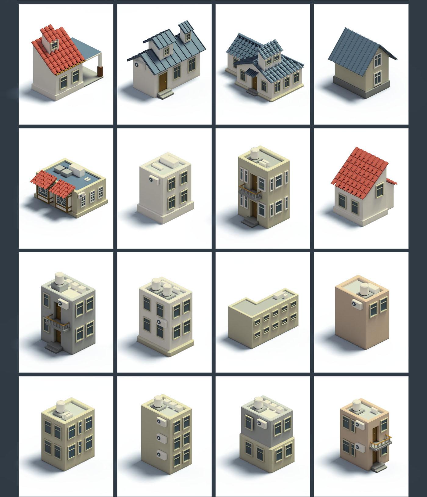 Isometric 3D Map Builder - Mapita on Behance