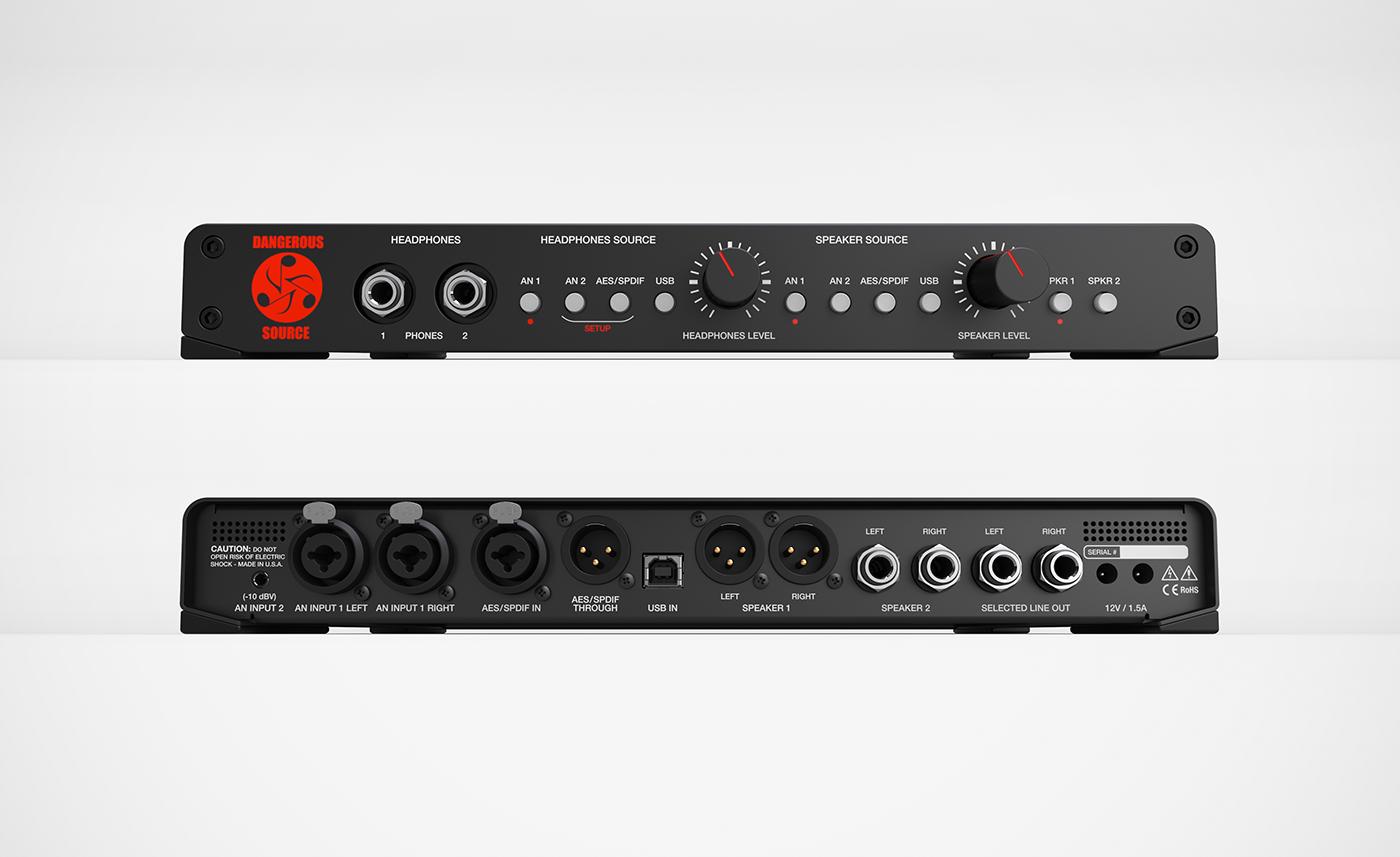 3D Solidworks design Audio recording mastering portable