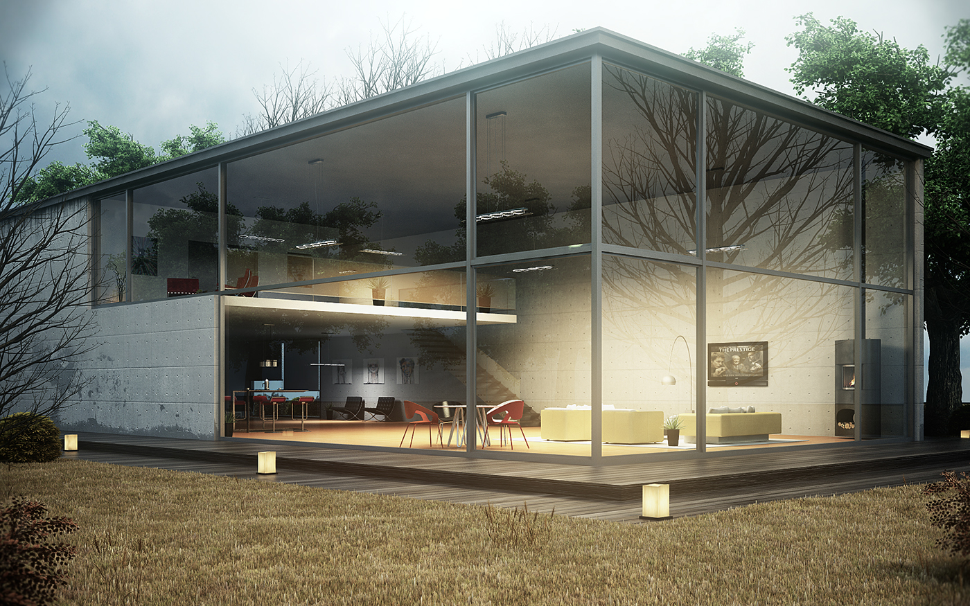 The glass house project