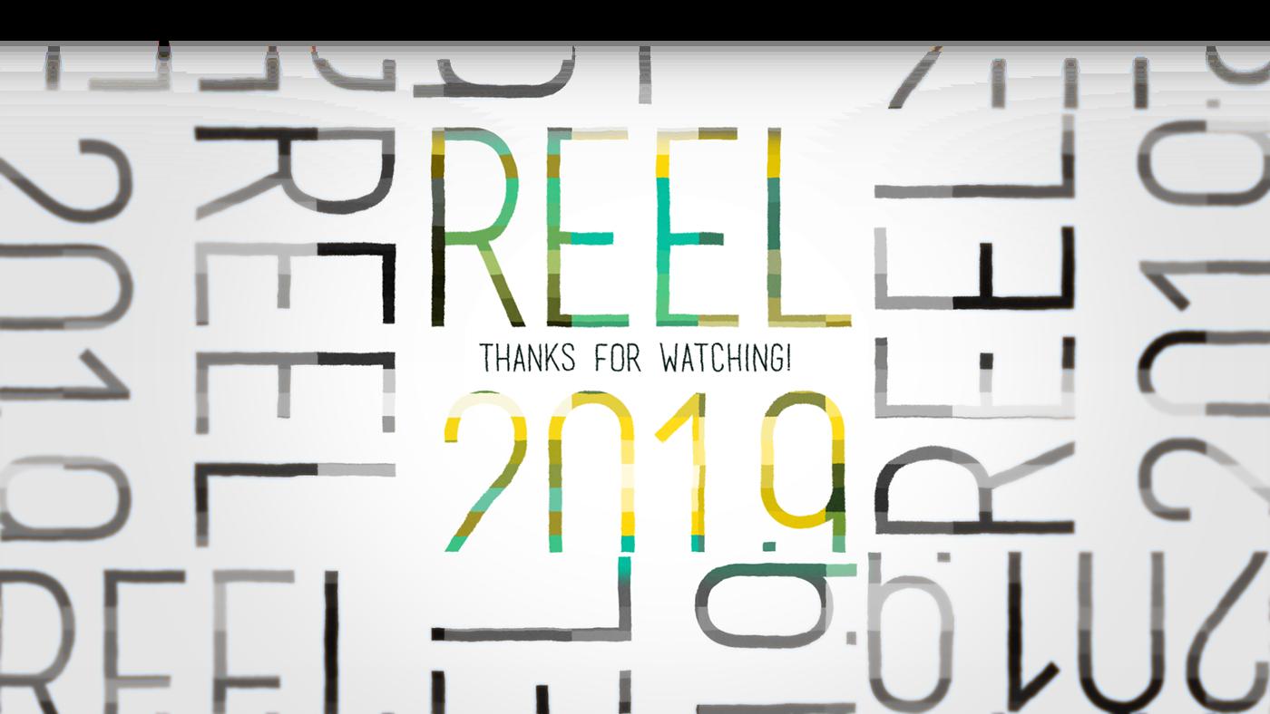 reel animation  Compilation 2D 3D edit