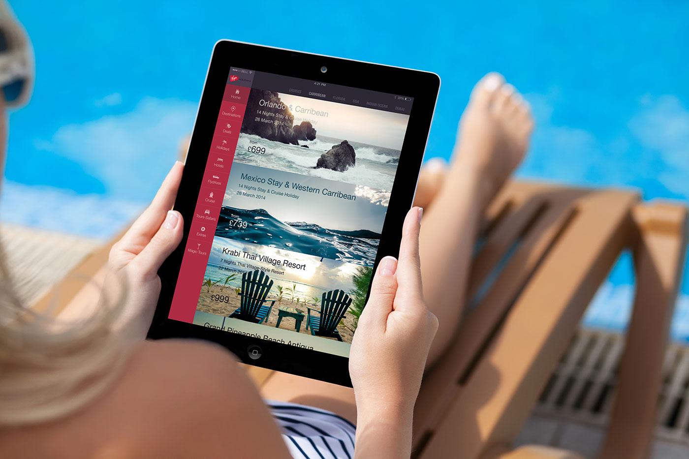 visual design conceptual design user interface design iPad App