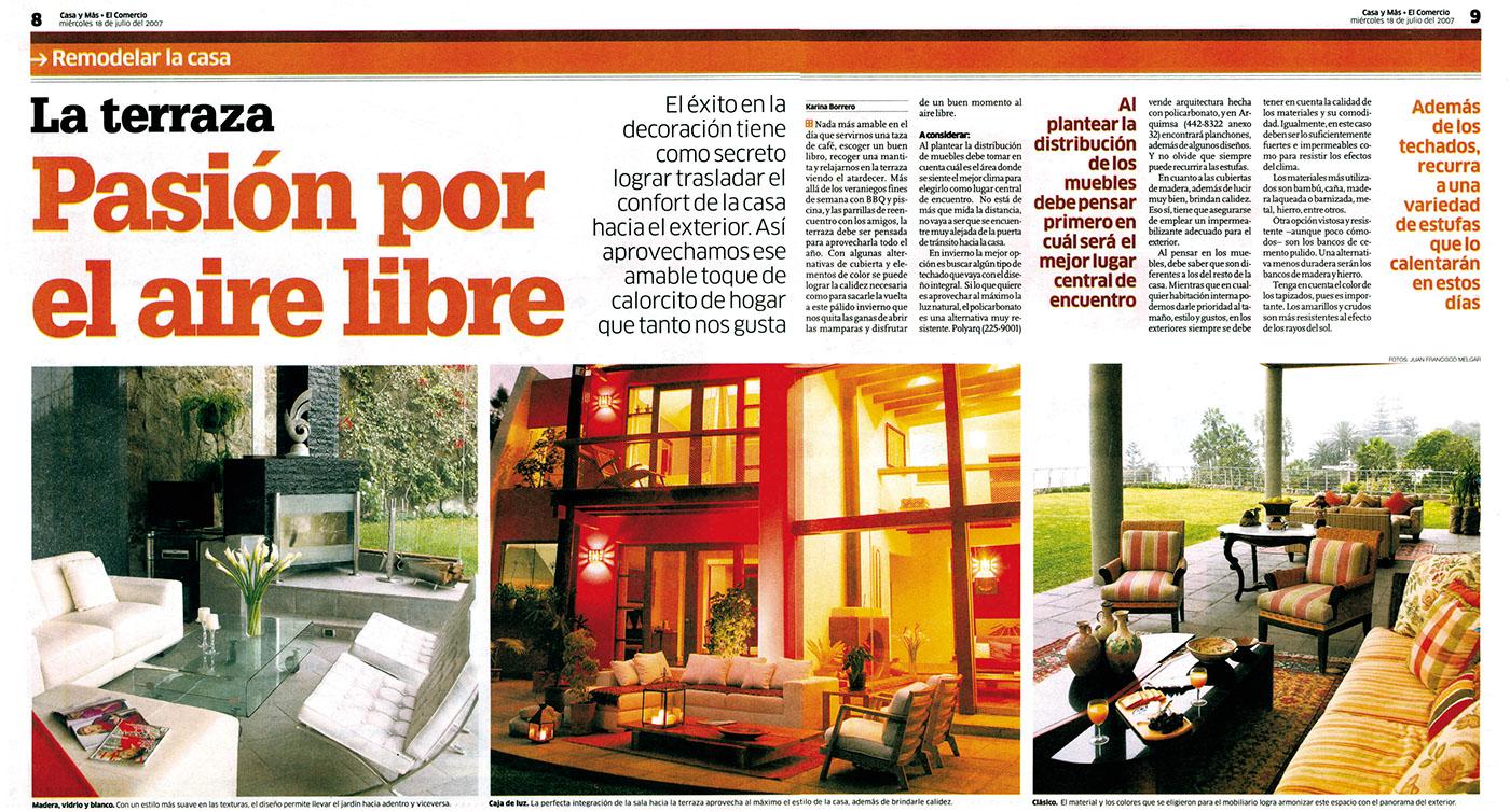 Casa Y Más El Comercio On Behance