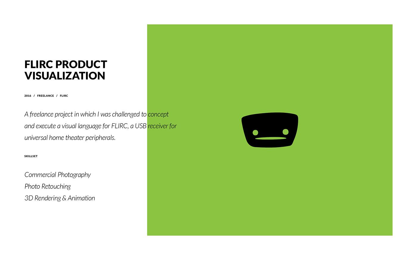 FLIRC usb cinema4d c4d Render animation  remote universal product