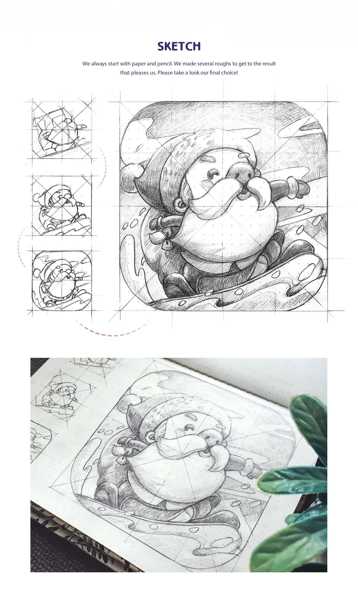 有創意感的19套聖誕節插圖欣賞