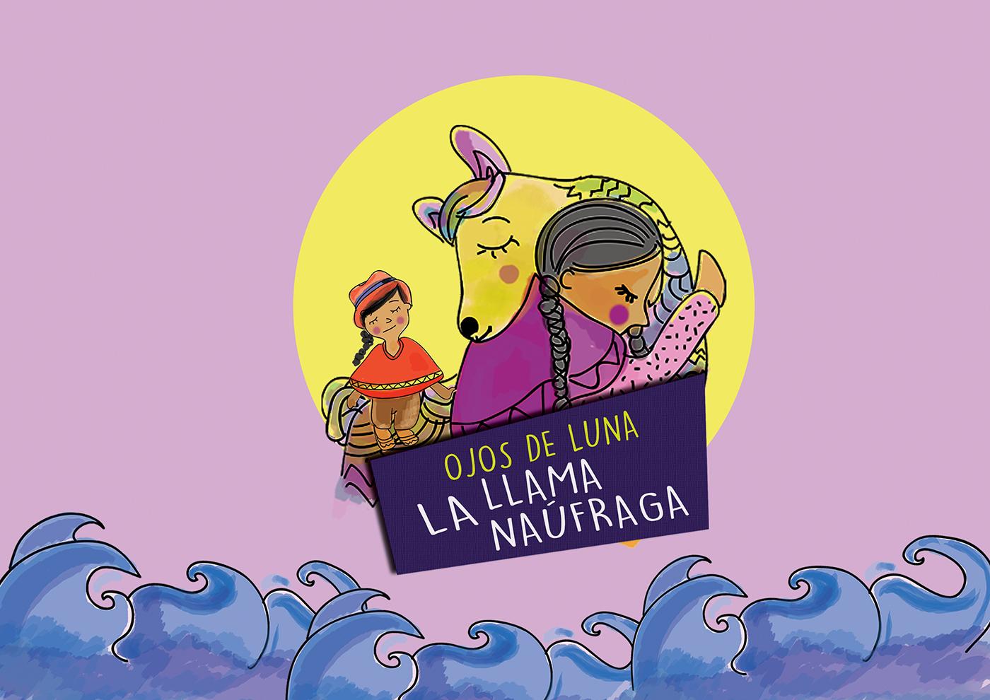 cuento Ecuador ilustracion sierra historia colores