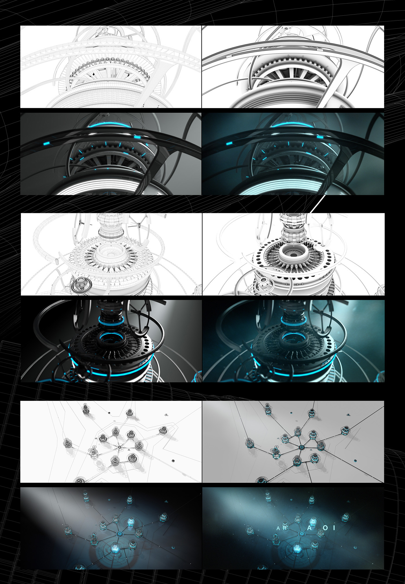 wittenstein,3D,after effects,Harmonograph,cinema 4d,lens flare,lines,mechatronic,compositing,short film,organic,structures,mechanical