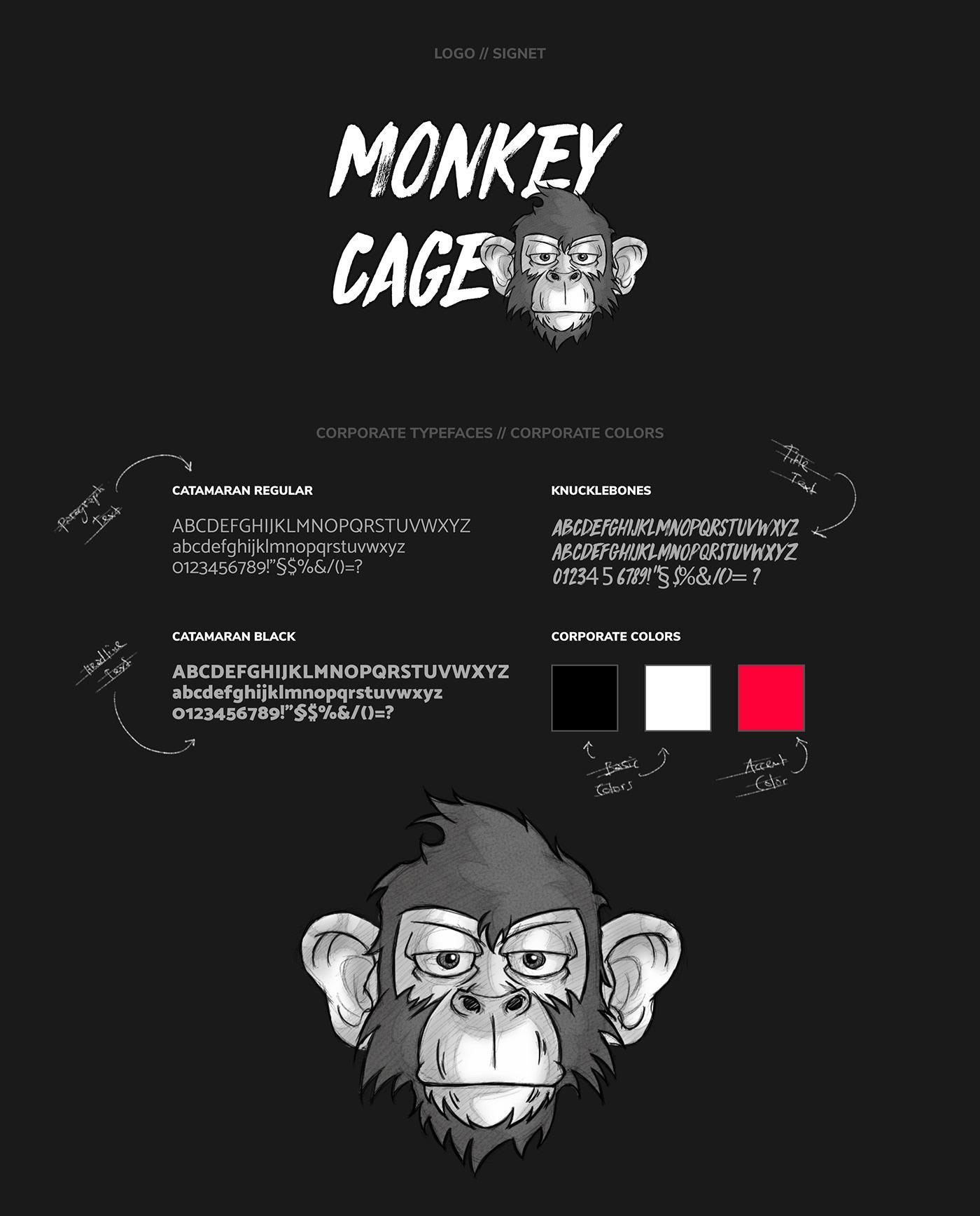 MONKEY CAGE // Logo