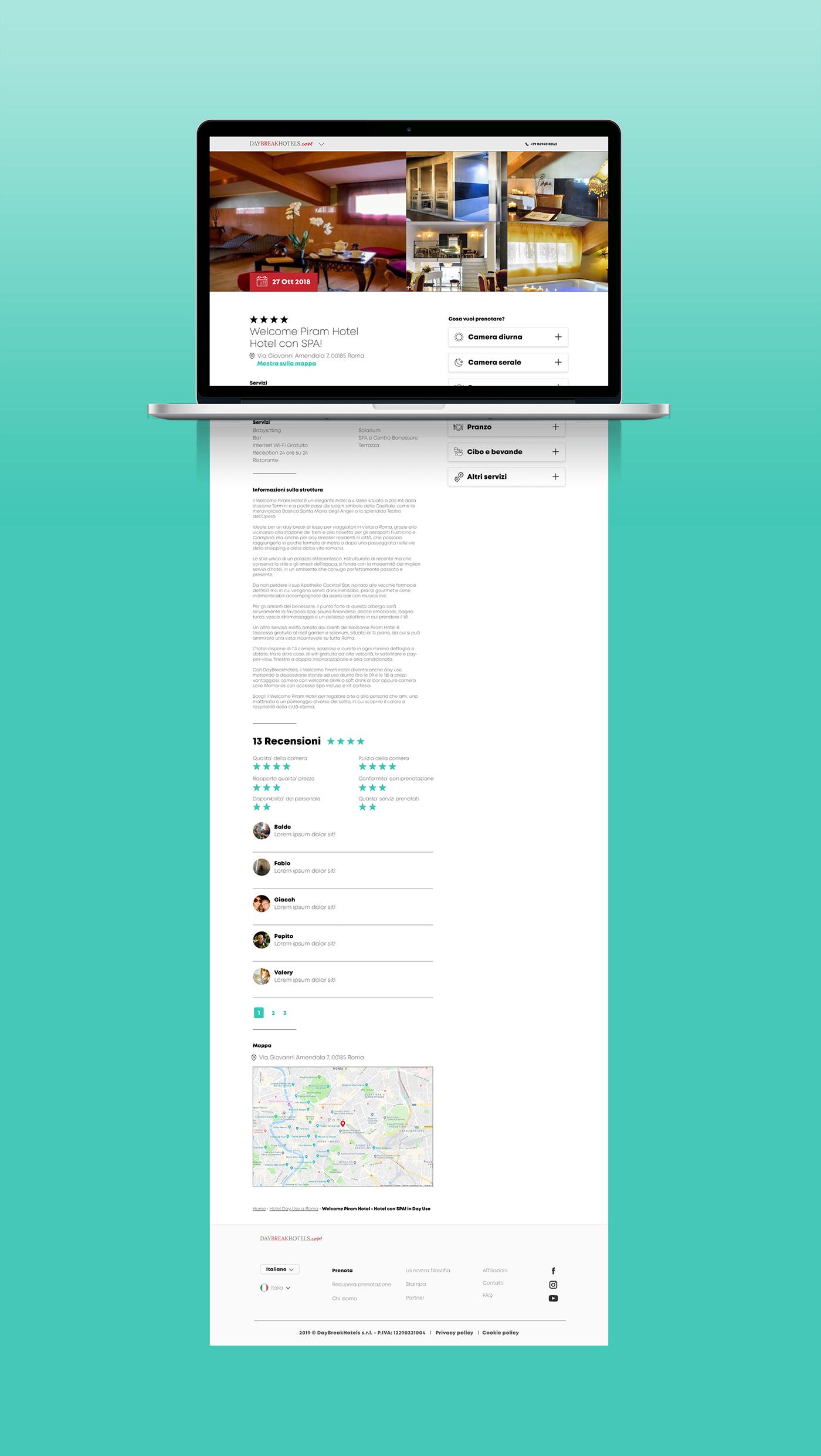 Filippo Maniscalco design ui ux wireframe Responsive Web Design