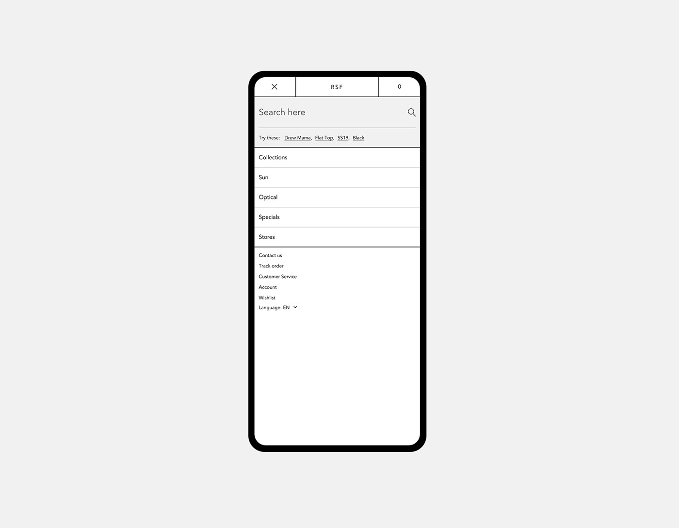 Website Ecommerce interaction UI Web