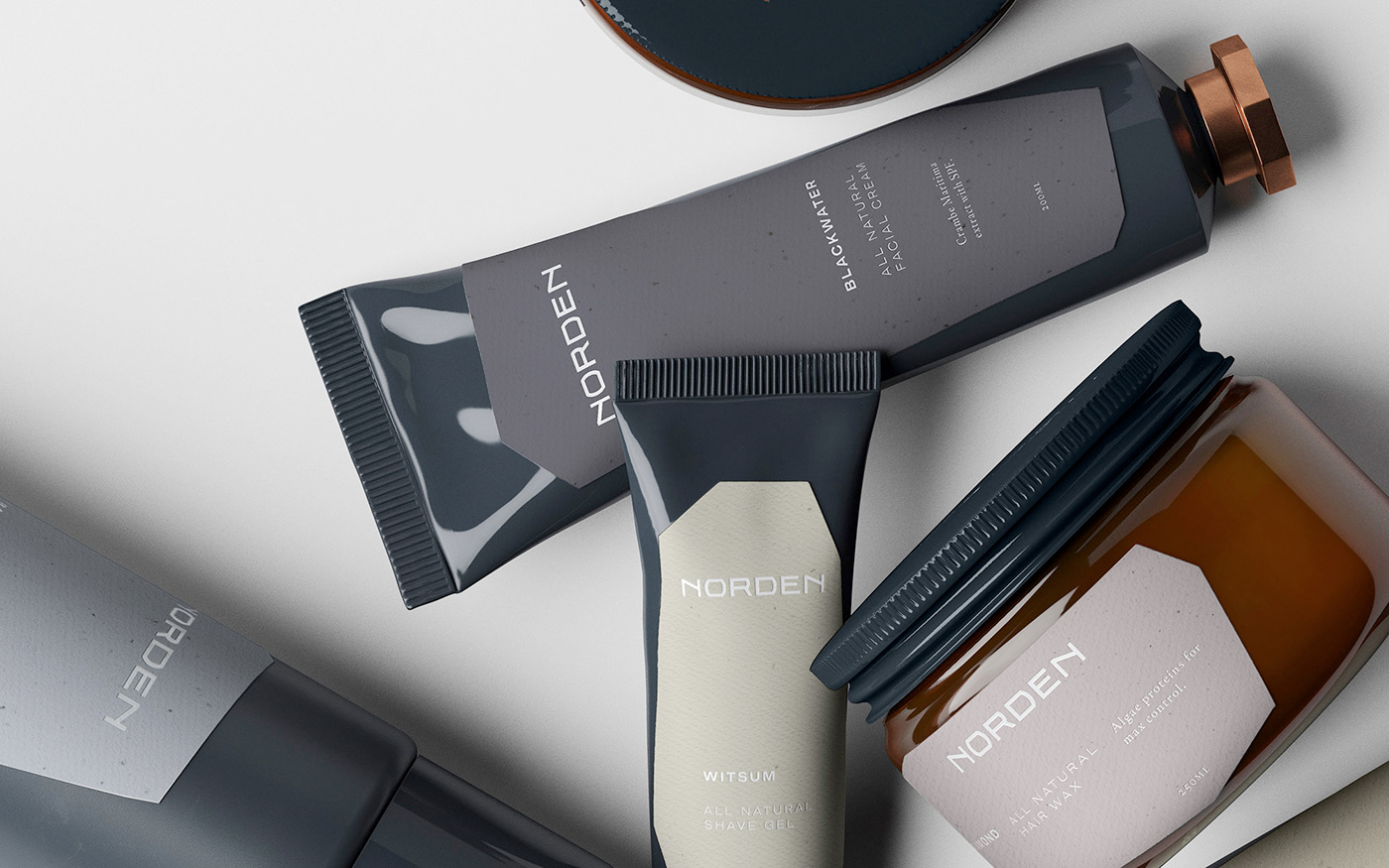 amsterdam grooming skincare cosmetics men Fashion  luxury Style Packaging Ethical