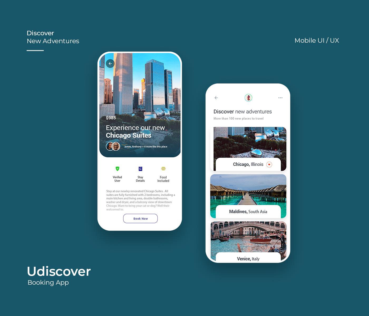UI/UX Web mobile design