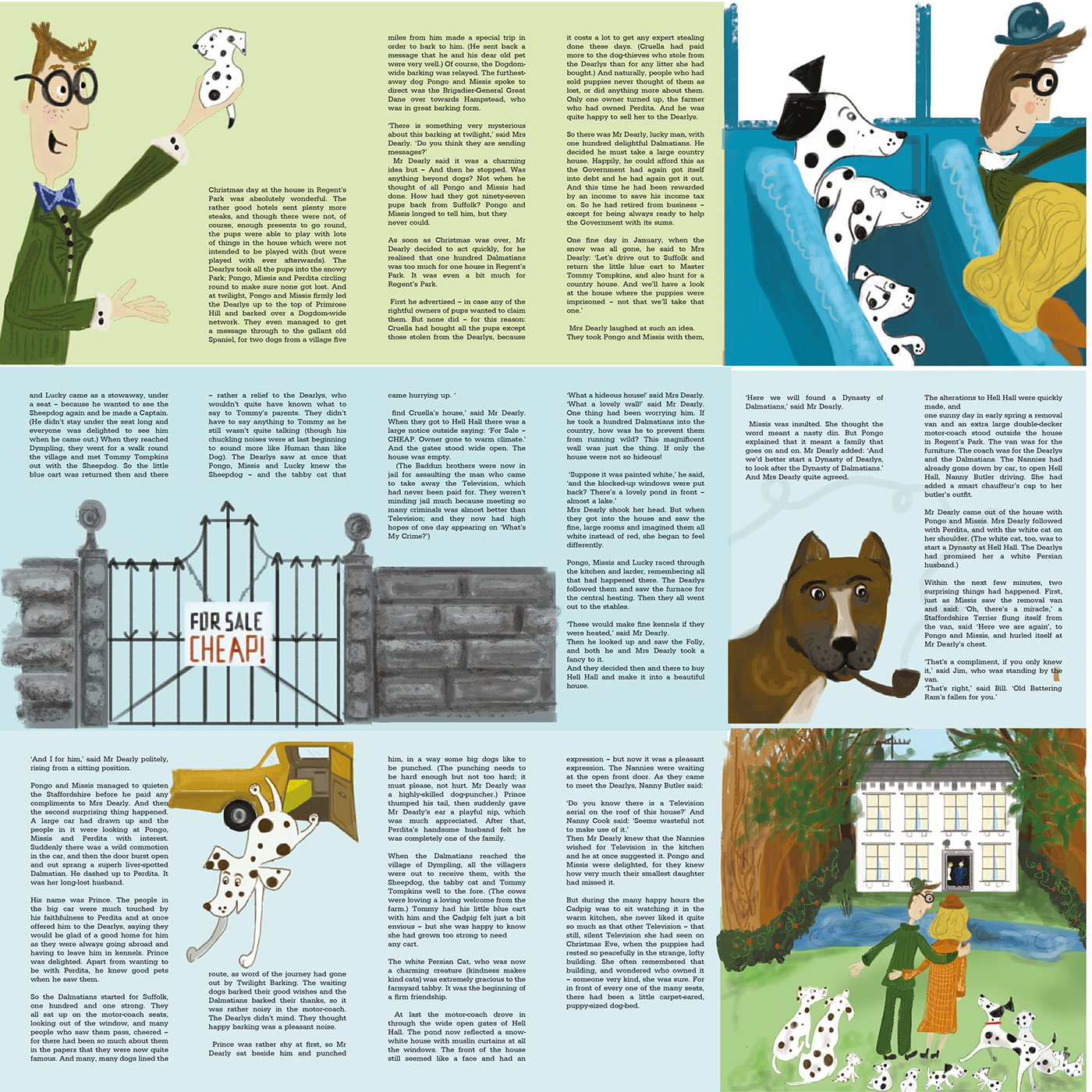 The Hundred and One Dalmatians on Behance