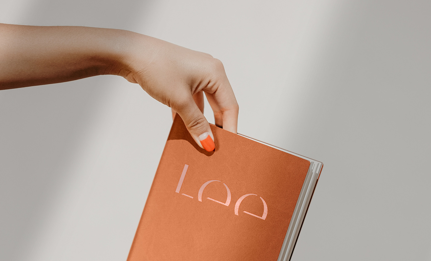 bold brand identity branding  Interior Lee lighting logo Logotype minimal personal