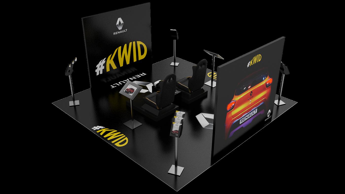 cinema 4d vray 3D photoshop Illustrator wacom renault