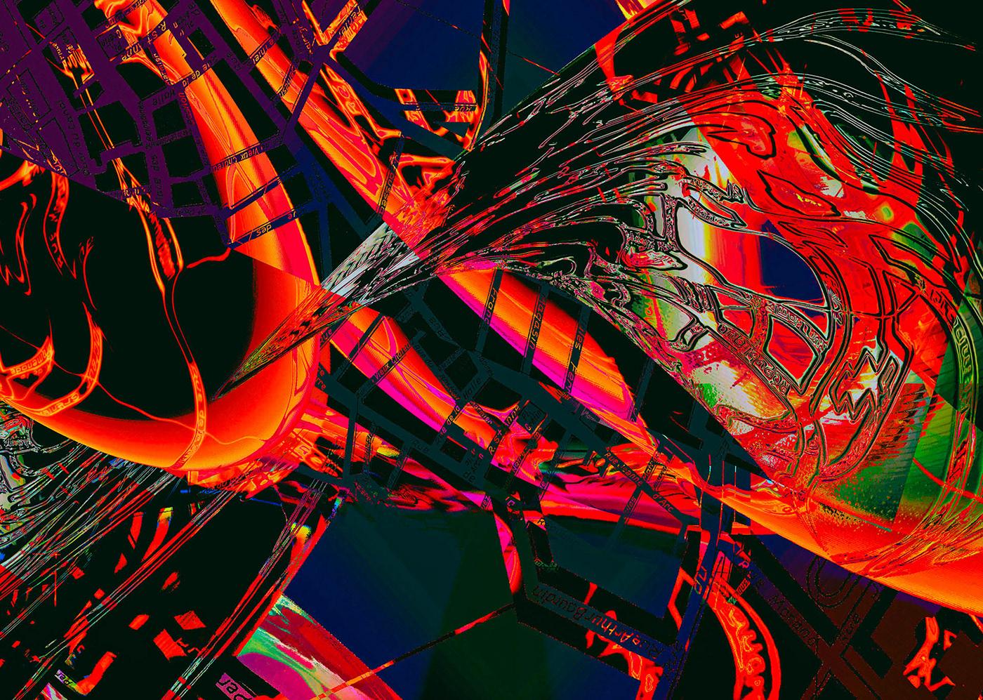 graphisme art numérique graphic design  conference poster depliant Culturel art communication visuelle visuel