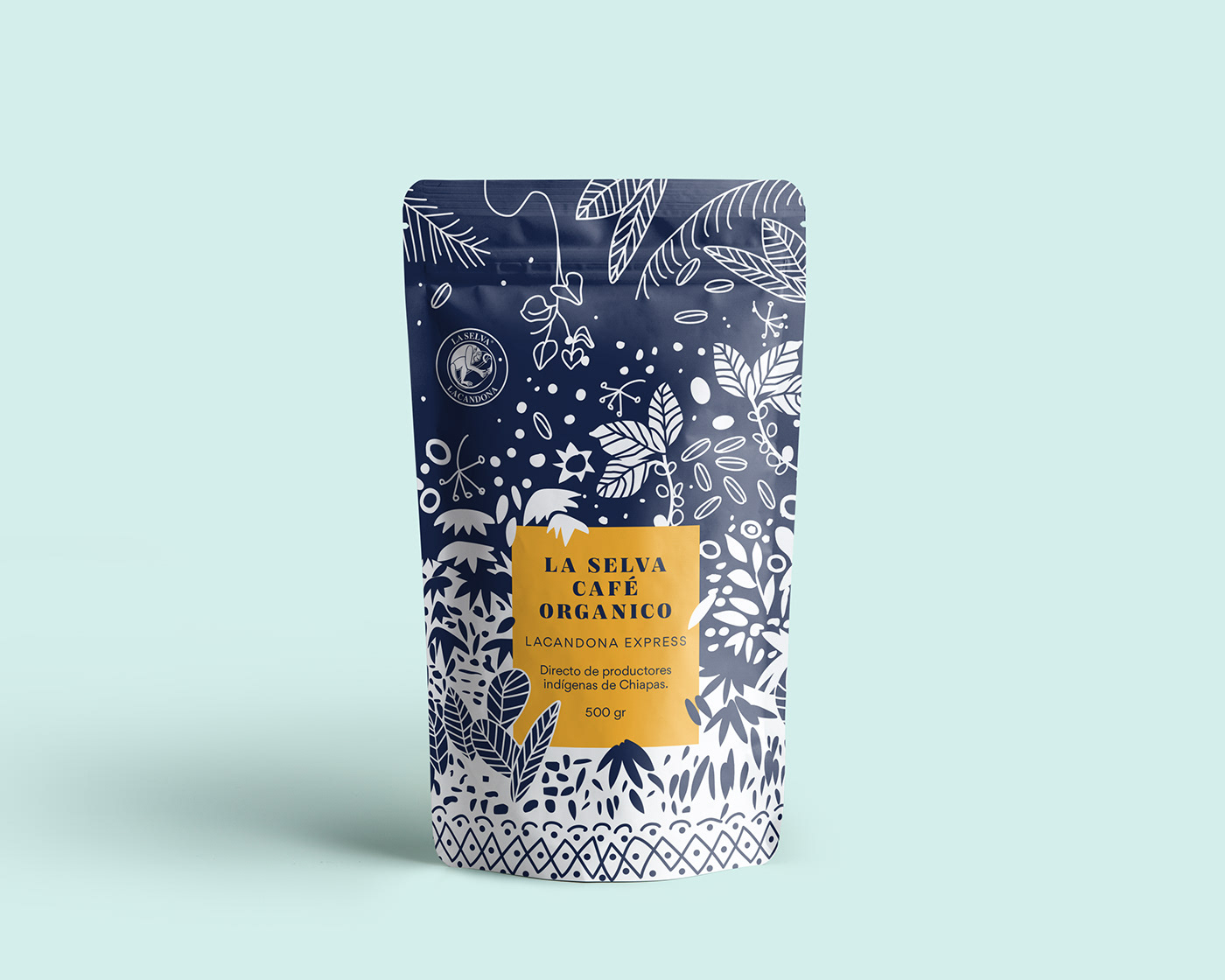 Coffee Packaging jungle mexico Mexican Design ILLUSTRATION