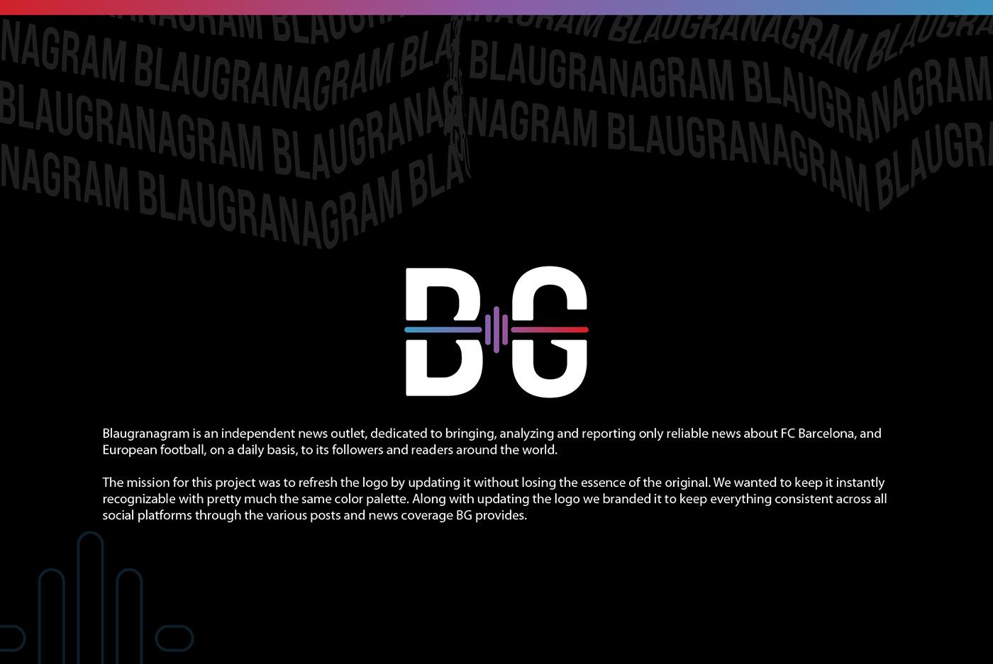 FC Barcelona football Futbol identity logo Media Branding Media Outlet news soccer sports news