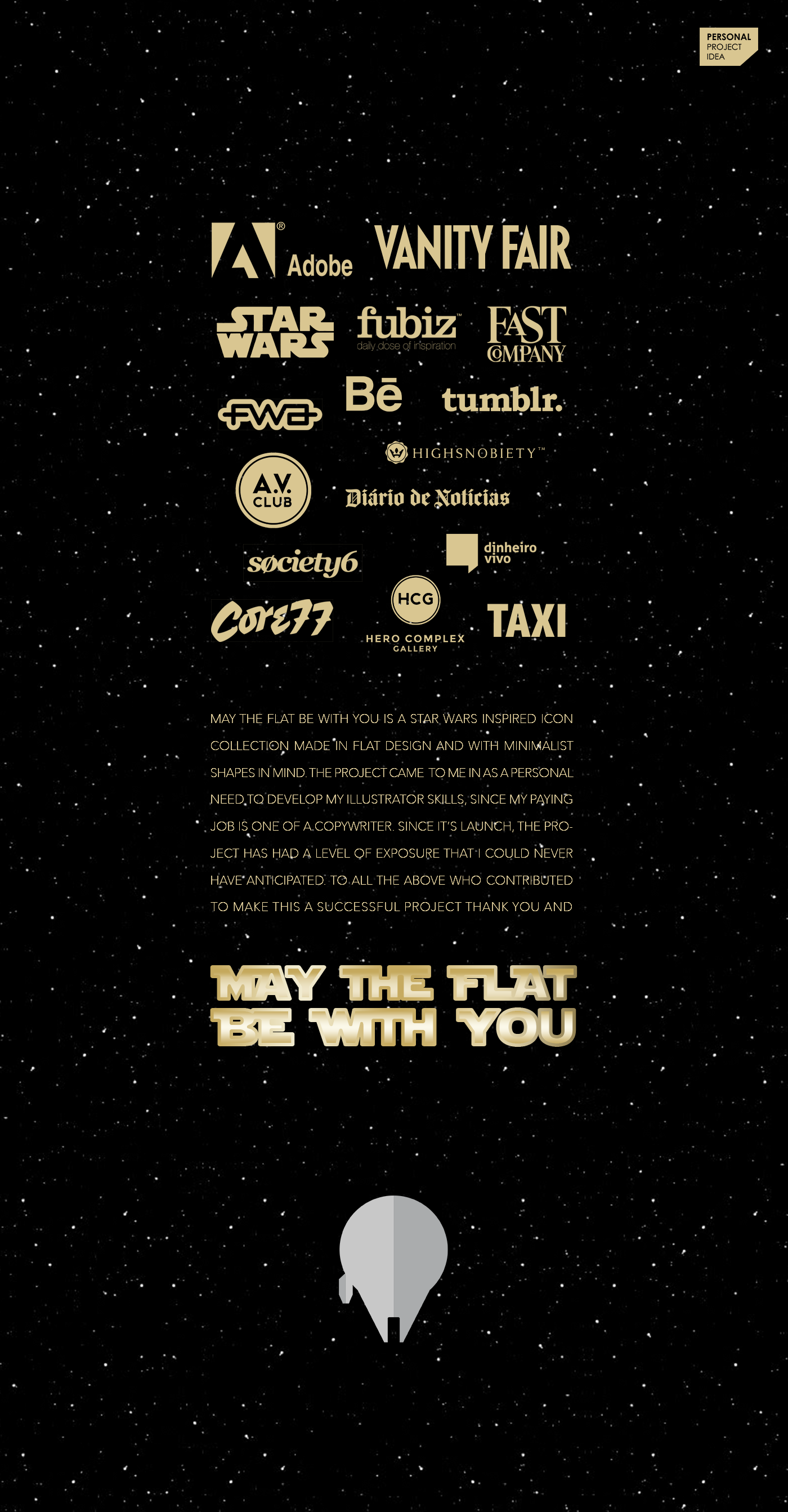 Adobe Portfolio Starwars flat design Long shadow design icons darth vader may the force Be with you flat icons creativeflip face icons characters iconic