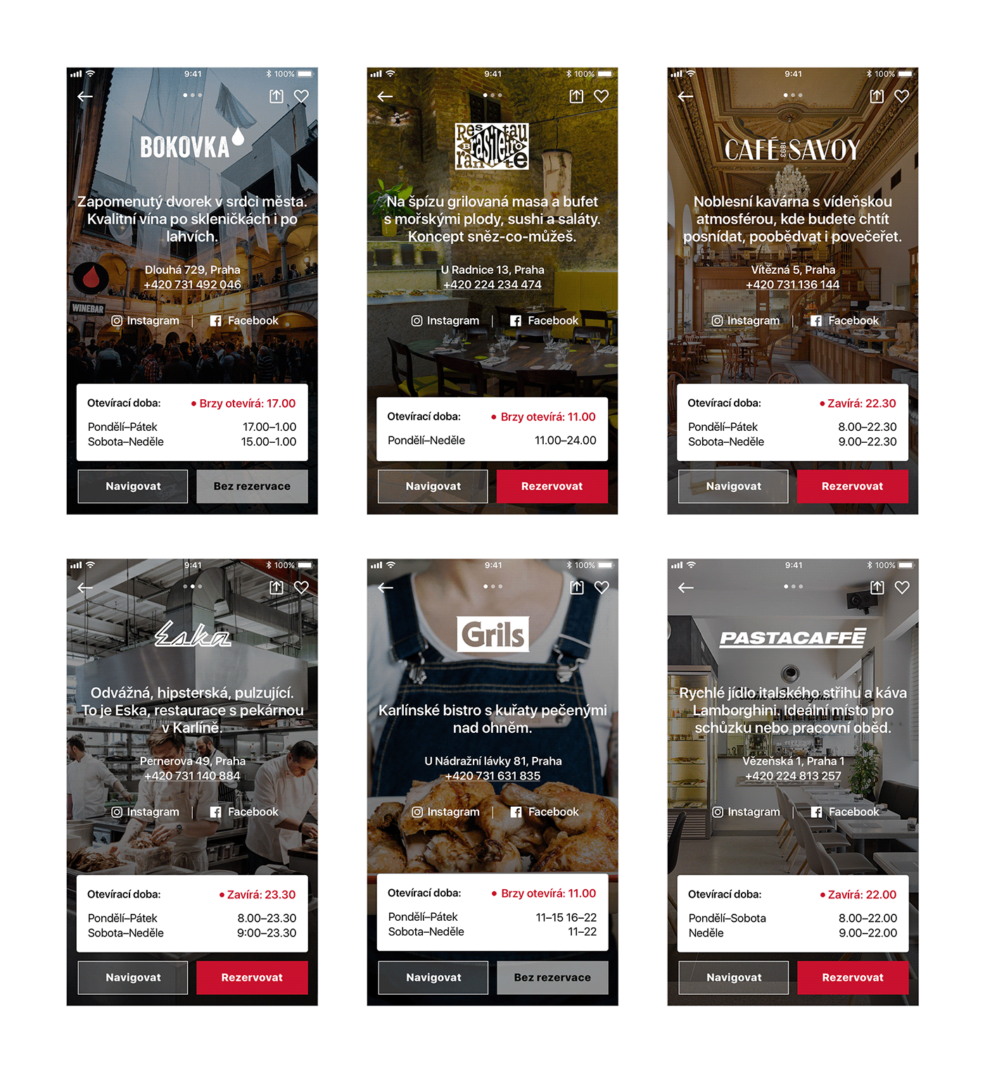 ambiente app mobile iphone Experience restaurants Booking app store android