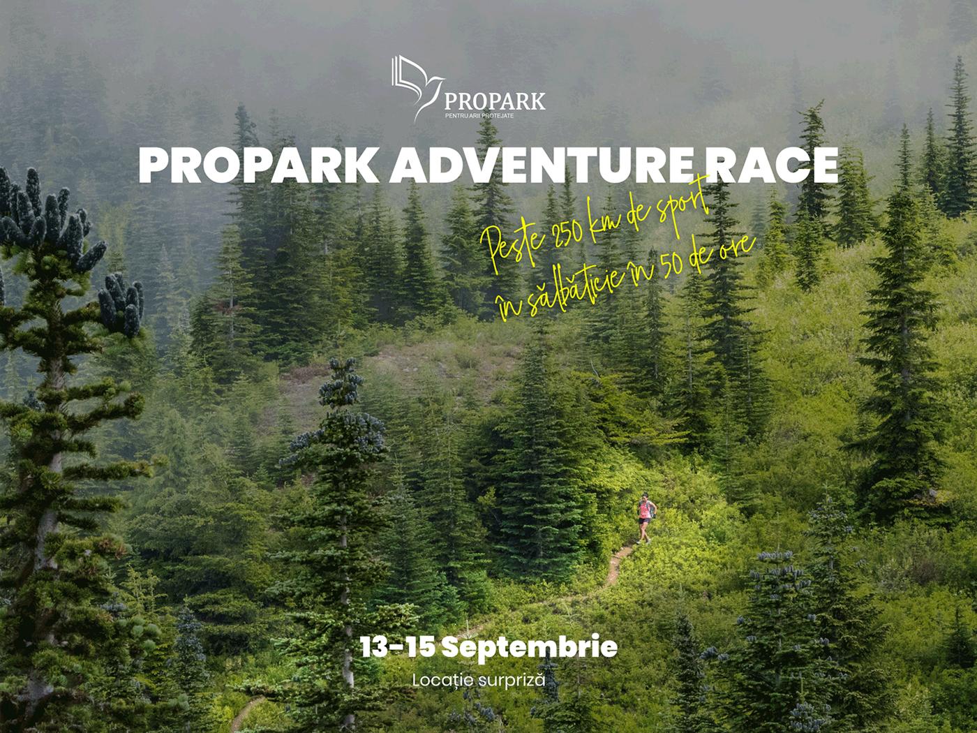 Marathon adventure poster propark