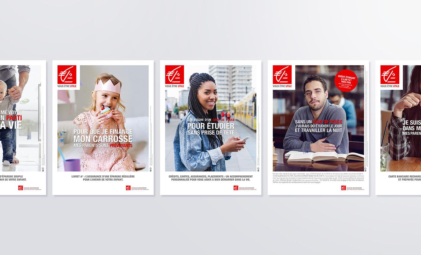 Film   affichage evenementiel edition banque campagne pub