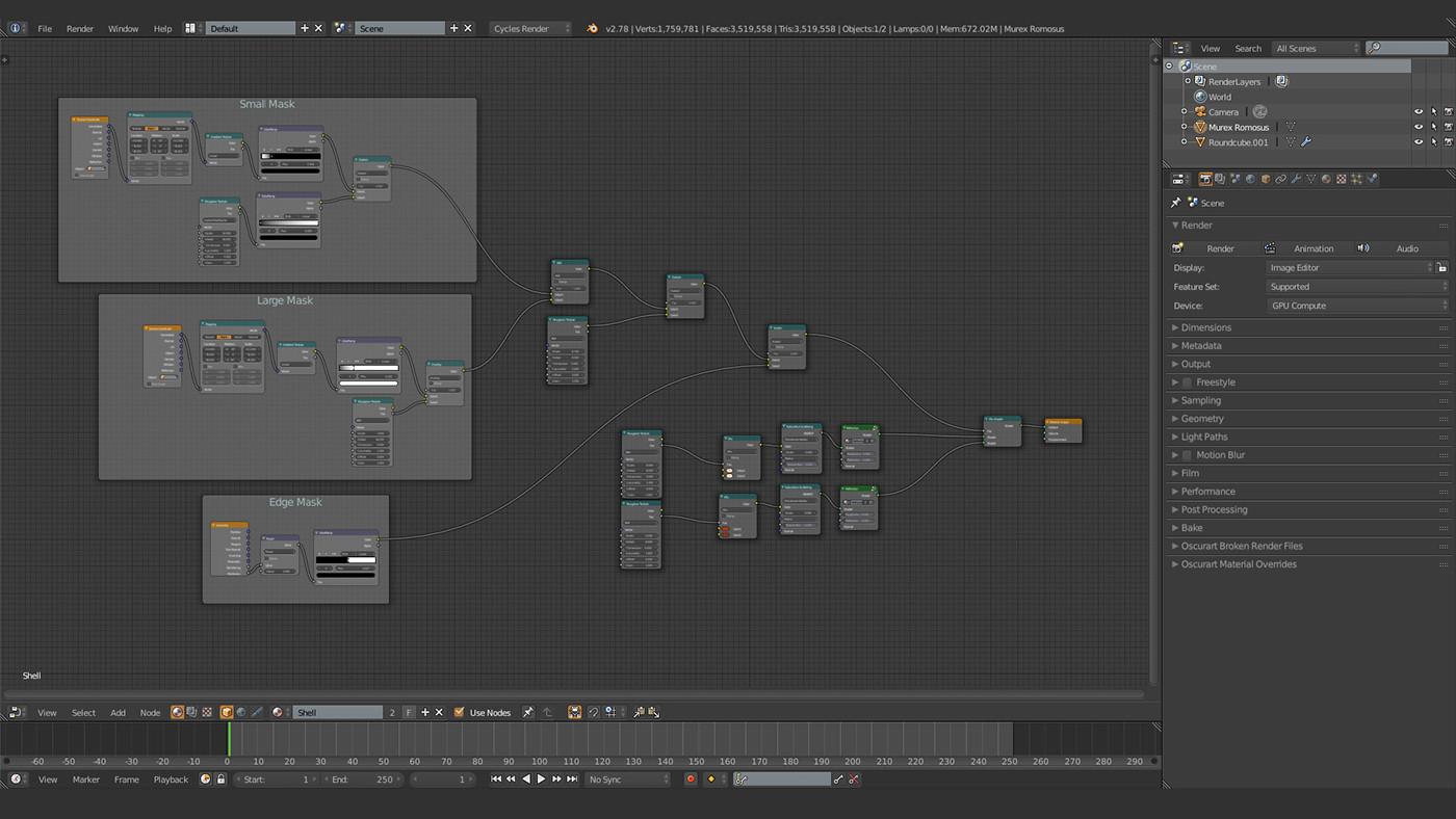 b3d,cycles,shell,backlit,mood,filmic