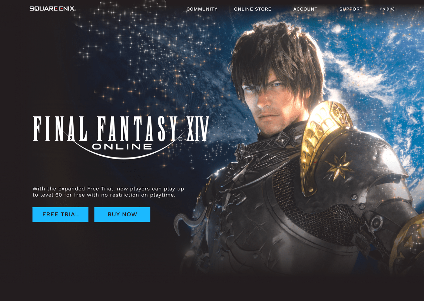 daily ui DailyUI FFXIV Figma final fantasy Interface landing page UI UI/UX Web Design