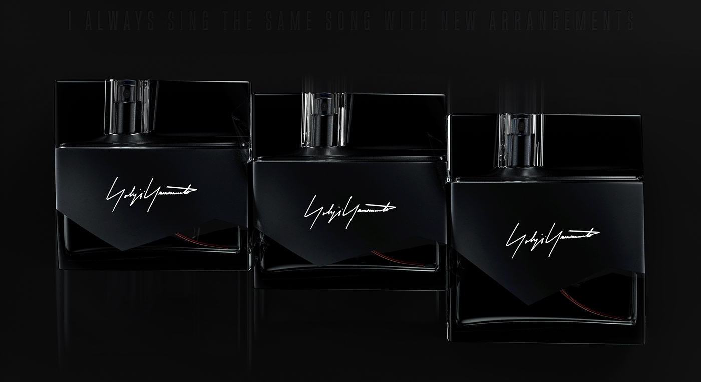 yohji yamamoto perfume disturb black monochrome dark Fashion  avantgarde japanese