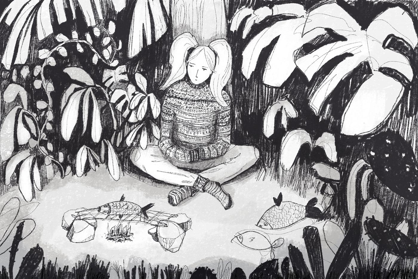 artwork dibujo Drawing  ILLUSTRATION  ilustracion sketch