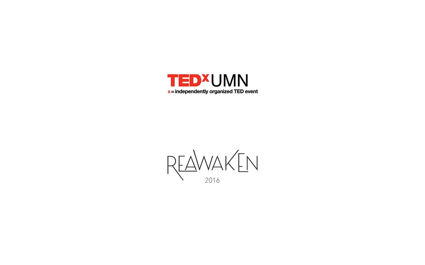 Event Branding TEDx TEDxUMN